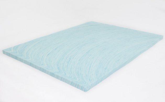 2 Quot Gel Swirl Memory Foam Topper Dreamfoam Bedding